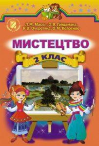 Скачати  Мистецтво  2           Масол Л.М.       Підручники Україна