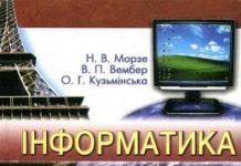 Скачати  Інформатика  9           Морзе Н.В. Вембер В.П. Кузьмінська О.Г.     ГДЗ Україна
