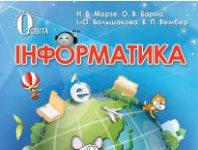 Скачати  Інформатика  4           Морзе Н.В. Барна О.В. Большакова І.О. Вембер В.П.    Підручники Україна