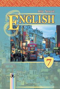 Скачати  Англійська мова  7           Несвіт А.       Підручники Україна