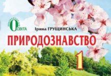 Скачати  Природознавство  1           Грущинська І.       Підручники Україна
