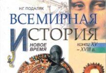 Скачати  Всемирная история  8           Подаляк Н.Г.       Підручники Україна