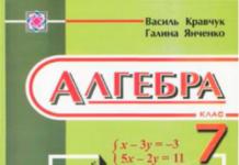 Скачати  Алгебра  7           Кравчук В. Янченко Г.      ГДЗ Україна