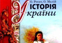 Скачати  Історія України  9           Реєнт О. Малій О.      Підручники Україна