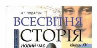 Скачати  Всесвітня історія  8           Подаляк Н.Г.       Підручники Україна